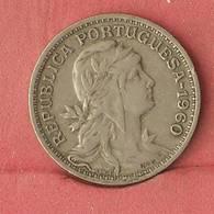 PORTUGAL 50 CENTAVOS 1960 -    KM# 577 - (Nº10906) - Portugal