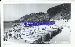 105640 CHILE VIÑA DEL MAR DTO VALPARAISO BEACH PLAYA LAS SALINAS PHOTO NO POSTAL POSTCARD - Chile