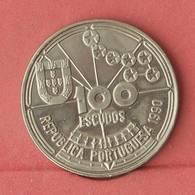 PORTUGAL 100 ESCUDOS 1990 -    KM# 649 - (Nº10915) - Portugal