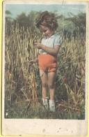 Tematica - Bambini - 19?? - Missed Stamps - Bambina In Campo Di Grano - Viaggiata Da Modena Per Pavullo - Enfants