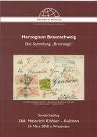 Herzogtum Braunschweig (Heinrich Köhler) - Catalogues For Auction Houses