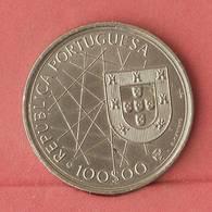 PORTUGAL 100 ESCUDOS 1989 -    KM# 648 - (Nº10918) - Portugal