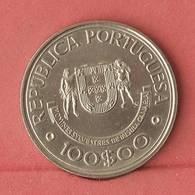 PORTUGAL 100 ESCUDOS 1989 -    KM# 646 - (Nº10922) - Portugal