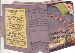 °°° Calendario Almanacco Italiano 1915 °°° - Calendars