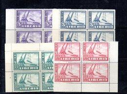 CI708 - LIBERIA -:  N. 276/277 + P.A. ; Splendide Quartine *** Porto Monrovia - Liberia