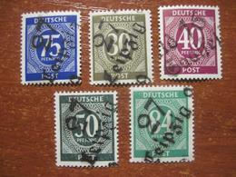 Germany 1946 Occupation Soviet Zone Overprint LEIPZIG MNH - Soviet Zone