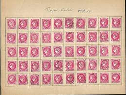 22  Lot De 1000 Timbres Au Type Cérès De 1938-40 Et Cérès De Mazelin Oblitéres - Sonstige