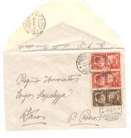 PR60454/ Italia-Italy Stamp Hitler-Mussolini C.Marotta 1941 To Fano - Marcophilie