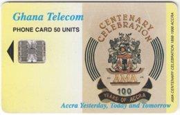 GHANA A-011 Chip Telecom - Anniversary - Used - Ghana