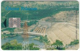 GHANA A-077 Chip Telecom - View, Dam - Used - Ghana