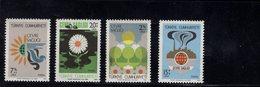 690259648 TURKEY 1980  POSTFRIS MINT NEVER HINGED POSTFRISCH EINWANDFREI SCOTT B174 B177 ENVIRONMENT PROTECTION - 1921-... République