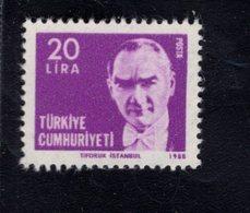 690260350 TURKEY 1980  POSTFRIS MINT NEVER HINGED POSTFRISCH EINWANDFREI SCOTT 2138 KEMAL ATATURK - 1921-... République