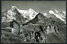 Berggausthaus Und Luftseilbahn Männlichen, Mit Eiger, Mönch U. Jungfrau, Photo Gyder - BE Bern