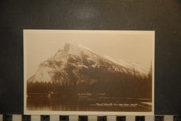 CP, Amérique, CANADA Mount Rundle From Bow River Banff Alberta - Banff