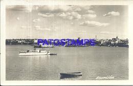 105651 PARAGUAY ASUNCION VISTA PARCIAL & SHIP POSTAL POSTCARD - Paraguay