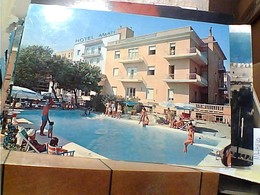 RIMINI  HOTEL AMATI PISCINA  N1975 GY6639 - Rimini