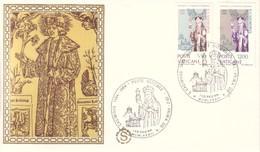 FDC CITTA' VATICANO 28-II-1984 SAN CASIMIRO PATRONO DELLA LITUANIA RE DI POLONIA. - FDC