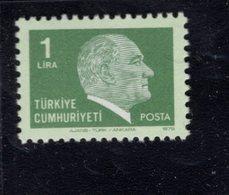 690261799 TURKEY 1979 1981  POSTFRIS MINT NEVER HINGED POSTFRISCH EINWANDFREI SCOTT 2128 KEMAL ATATURK - 1921-... République