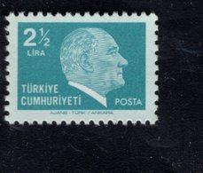 690262483 TURKEY 1979 1981  POSTFRIS MINT NEVER HINGED POSTFRISCH EINWANDFREI SCOTT 2130 KEMAL ATATURK - 1921-... République