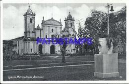 105652 PARAGUAY ASUNCION CHURCH IGLESIA METROPOLITANA POSTAL POSTCARD - Paraguay