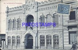 105654 PARAGUAY LA INDUSTRIA BUILDING POSTAL POSTCARD - Paraguay