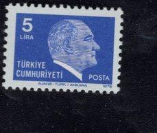 690263293 TURKEY 1979 1981  POSTFRIS MINT NEVER HINGED POSTFRISCH EINWANDFREI SCOTT 2132 KEMAL ATATURK - 1921-... République