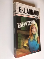 FLEUVE NOIR SPÉCIAL POLICE N° 1235   ENFANTASME   G.-J. Arnaud   E.O. 1976 - Fleuve Noir