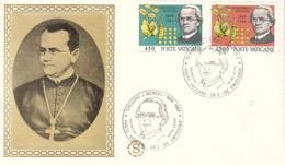 FDC FILAGRANO - Vaticano 1984 - Centenario Della Morte Del Biologo Abate Mendel. - FDC
