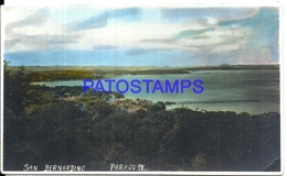 105657 PARAGUAY SAN BERNARDINO VISTA GENERAL PHOTO NO POSTAL POSTCARD - Paraguay