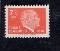 690263647 TURKEY 1979 1981  POSTFRIS MINT NEVER HINGED POSTFRISCH EINWANDFREI SCOTT 2134 KEMAL ATATURK - 1921-... République