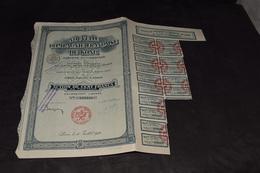 100 Frs Nouvelle Compagnie Française De Kong 20 000 000 Frs 1926 - Afrique