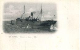 N°68355 -cpa Le Havre -steamer Au Large- - Commerce