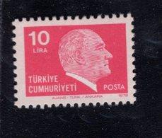 690264265 TURKEY 1979 1981  POSTFRIS MINT NEVER HINGED POSTFRISCH EINWANDFREI SCOTT 2135 KEMAL ATATURK - 1921-... République