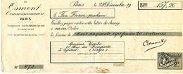 Entier Fiscal 2 Francs Sur Document De Cours D'instruction Pigier - Fiscaux