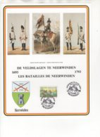 Les Batailles De Neerwinden - De Veldslagen Te Neerwinden 1693-1793. 13/3/1993. - Souvenir Cards