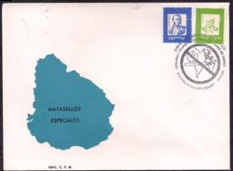 Uruguay - FDC - 1991 - Lieux Et Transports En Commun Sans Tabac - Santé - Tabagisme - Uruguay