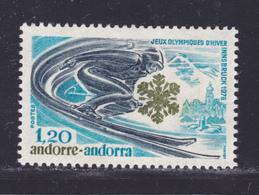 ANDORRE N°  251 ** MNH Neuf Sans Charnière, TB (D8008) Jeux Olympiques D'hiver à Innsbruck - 1976 - Andorra Francesa
