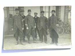 CPA (72) Sarthe - Carte Photo - YVRE L'EVEQUE - 117  7ème Régiment D'infanterie - Militariat - Other Municipalities