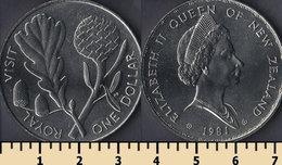 New Zealand 1 Dollar 1981 - Nouvelle-Zélande