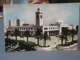 Cp ORAN La Gare 1961 - Oran