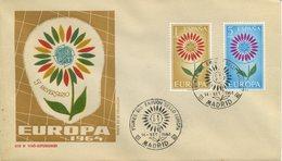 SPAGNA  - FDC 1964 - EUROPA UNITA - CEPT -  ANNULLO SPECIALE - FDC