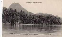 TAHITI VUE DE MOOREA - Polynésie Française