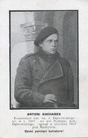 Antoni Kochanek Born In Podlipie Poland Dead Almadrones Spain Spanish Civil War Guerre Espagne - Polen