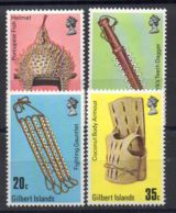 GILBERT ( POSTE ) : Y&T N°  37/40  TIMBRES  NEUFS  SANS  TRACE  DE  CHARNIERE . - Timbres