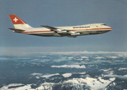 Swissair,Boeing 747 B, Ungelaufen - 1946-....: Modern Tijdperk