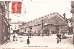 CPA - Chatellerault - La Halle - Chatellerault