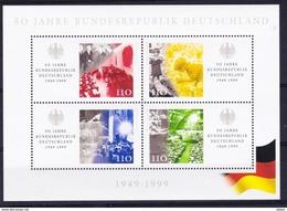 Duitsland West 1999 Blok Nr 48 **, Zeer Mooi Lot Krt 3208 - [7] République Fédérale