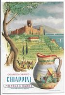 """Cartolina Pubblicitaria - Moniga Del Garda (Brescia). Vino - Chiaretto Classico """"Chiappini"""". - Brescia"""