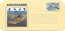 Gibraltar - Postal Stationary Aerogram - Eurasian Hoopoe Upupa Epops - Coucous, Touracos