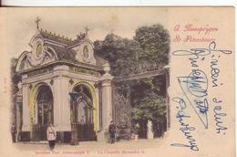35 Russia-Storia Postale Genova-Liguria: Quartiere Postale Portalettere N.6-v.1901 Da St.Petersbourg - 1900-44 Vittorio Emanuele III